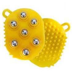 Ideal Home Palm Shaped Massage Glove Body Massager with 7 360-degree-roller Metal Roller Ball - Worldshopon.com
