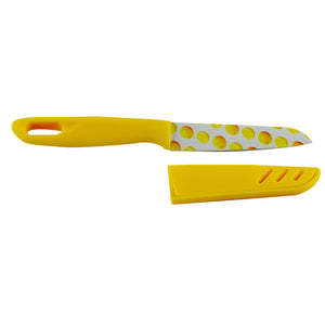 "4"" DESIGNER KNIFE WITH PLASTIC COVER - worldshopon-com"