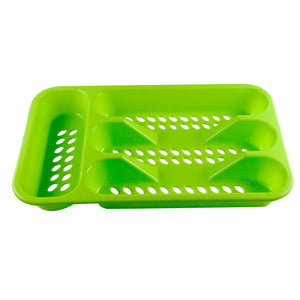 Ideal Home Drawer Organizer Plastic Cutlery Tray (ASSORTED COLORS) - Worldshopon.com