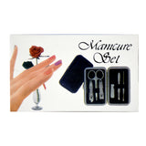 Ideal Home Grooming Manicure Pedicure Tools Set of 6pcs in beautiful carry case - Worldshopon.com