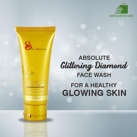 Skin Absolute Glittering Diamond Face Wash (Pack of 4)