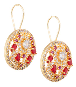 NAAZ RUBY RED (EARRING 2N)