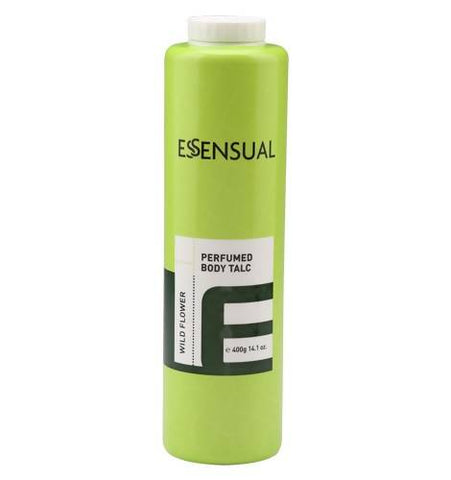 ESSENSUAL PERFUMED BODY TALC-WILD FLOWER (400G) - Worldshopon.com