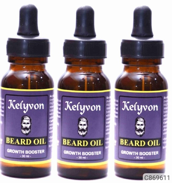 Kelyvon  Beard Oil 30 Ml (Pack of 3)