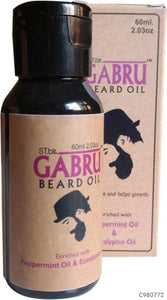 Stir Gabru Beard Oil Peppermint & Eucalyptus