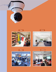 CCTV WIFI SECURITY CAMERA - EASY SETUP