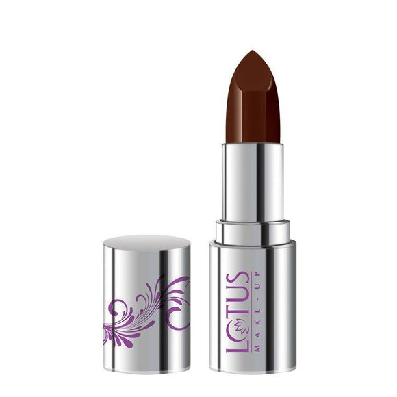 Lotus Makeup Ecostay Butter Matte Lip Color Wicked Brown BM15 (4.2 g) - Worldshopon.com
