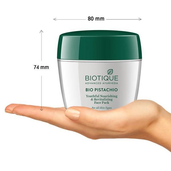 Biotique Bio Pistachio Youthful Nourishing and Revitalizing Face Pack (175 g)