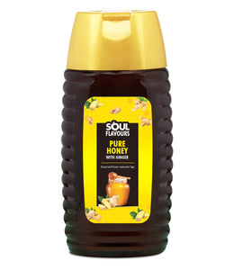 SOUL FLAVOURS PURE HONEY WITH GINGER (500G)