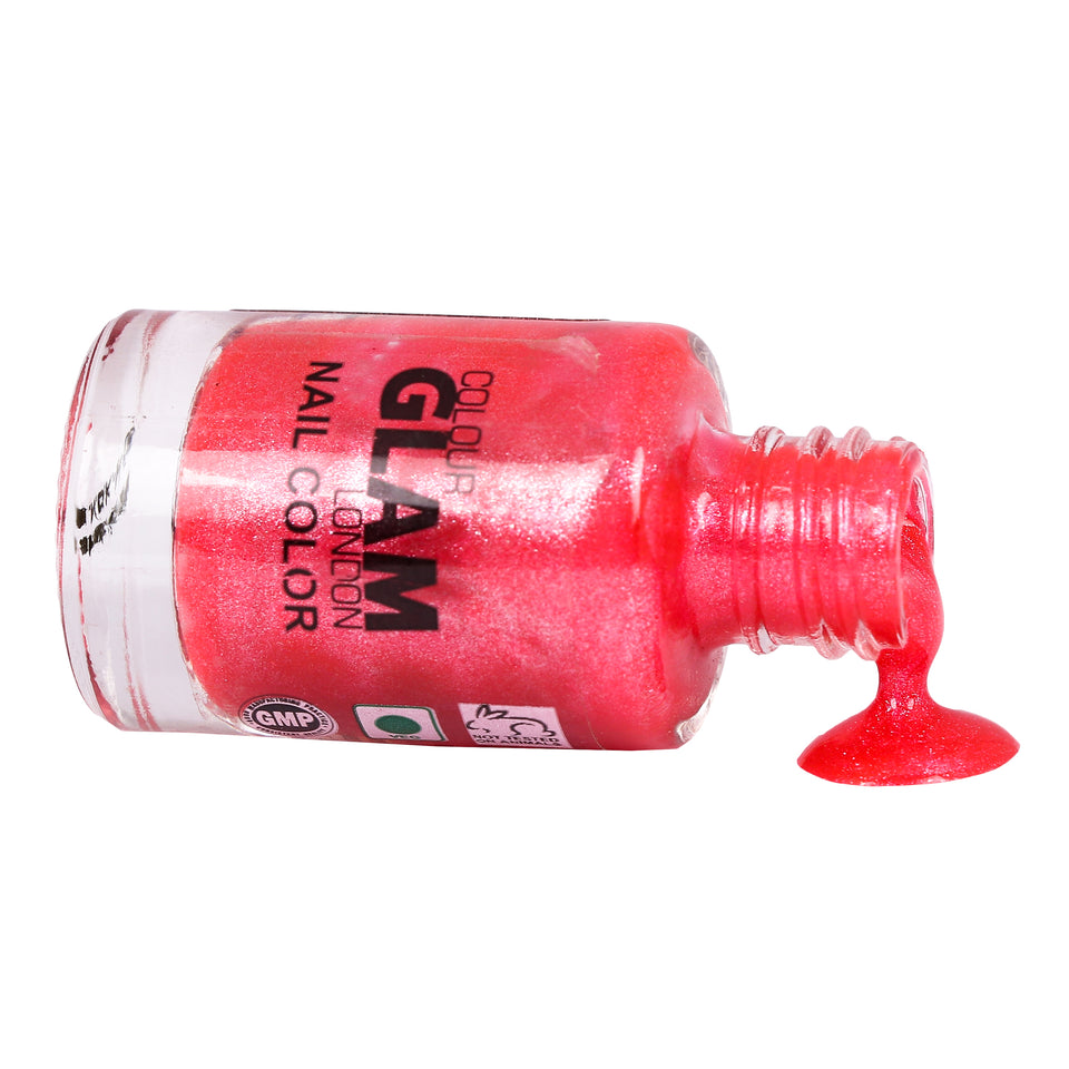 Colour Glam Non-toxic Nailpaint -Set of 5pcs - Worldshopon.com