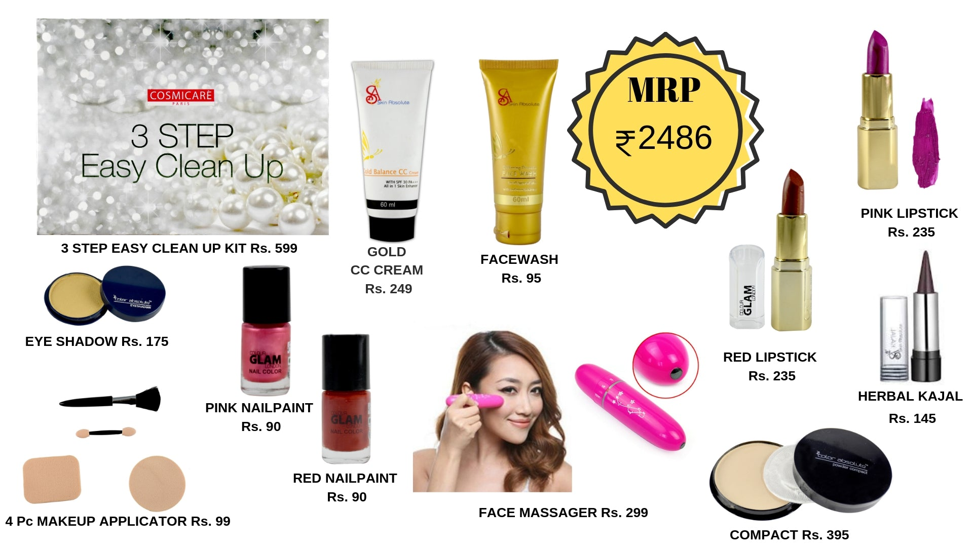 Complete Beauty Essentials Kit - Treat yourself - worldshopon-com