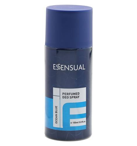 ESSENSUAL PERFUMED DEO SPRAY-OCEAN BLUE (150ML) - Worldshopon.com