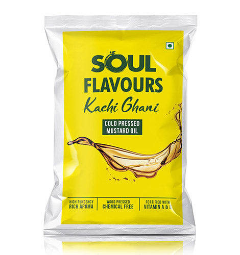 SOUL FLAVOURS KACHI GHANI COLD PRESSED MUSTARD OIL