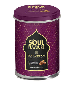 SOUL FLAVOURS SHAHI MUKHWAS (75G) - Pack of 4