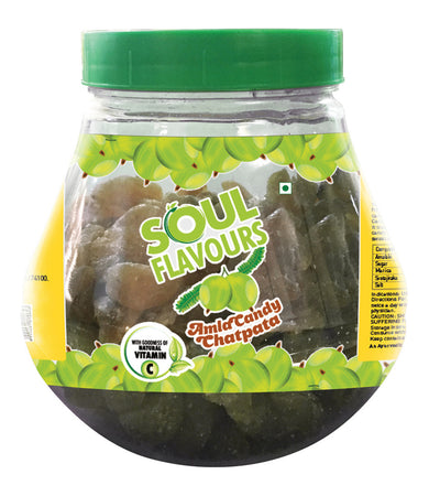 SOUL FLAVOURS CHATPATA AMLA CANDY (500G)