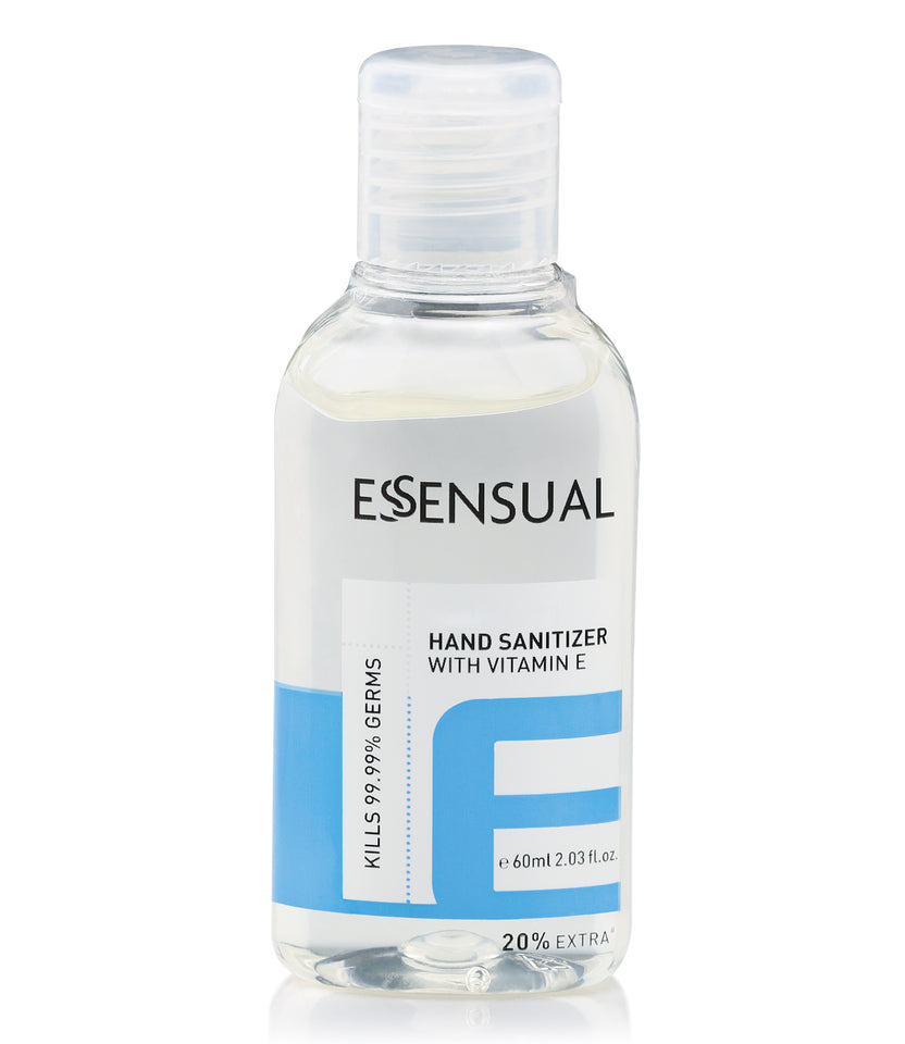 ESSENSUAL HAND SANITIZER WITH VITAMIN E - Pack of 6