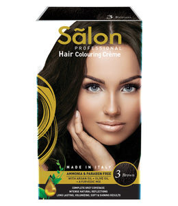 SALON PROFESSIONAL HAIR COLOR-BROWN (3)