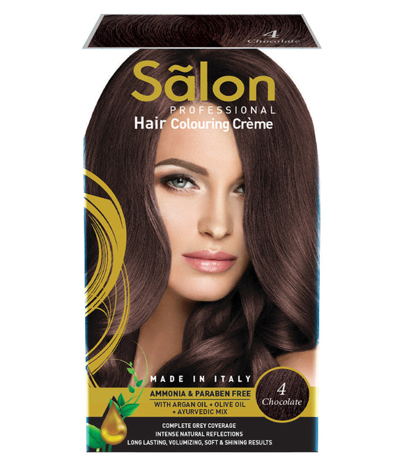 SALON PROFESSIONAL HAIR COLOR-CHOCOLATE (4)
