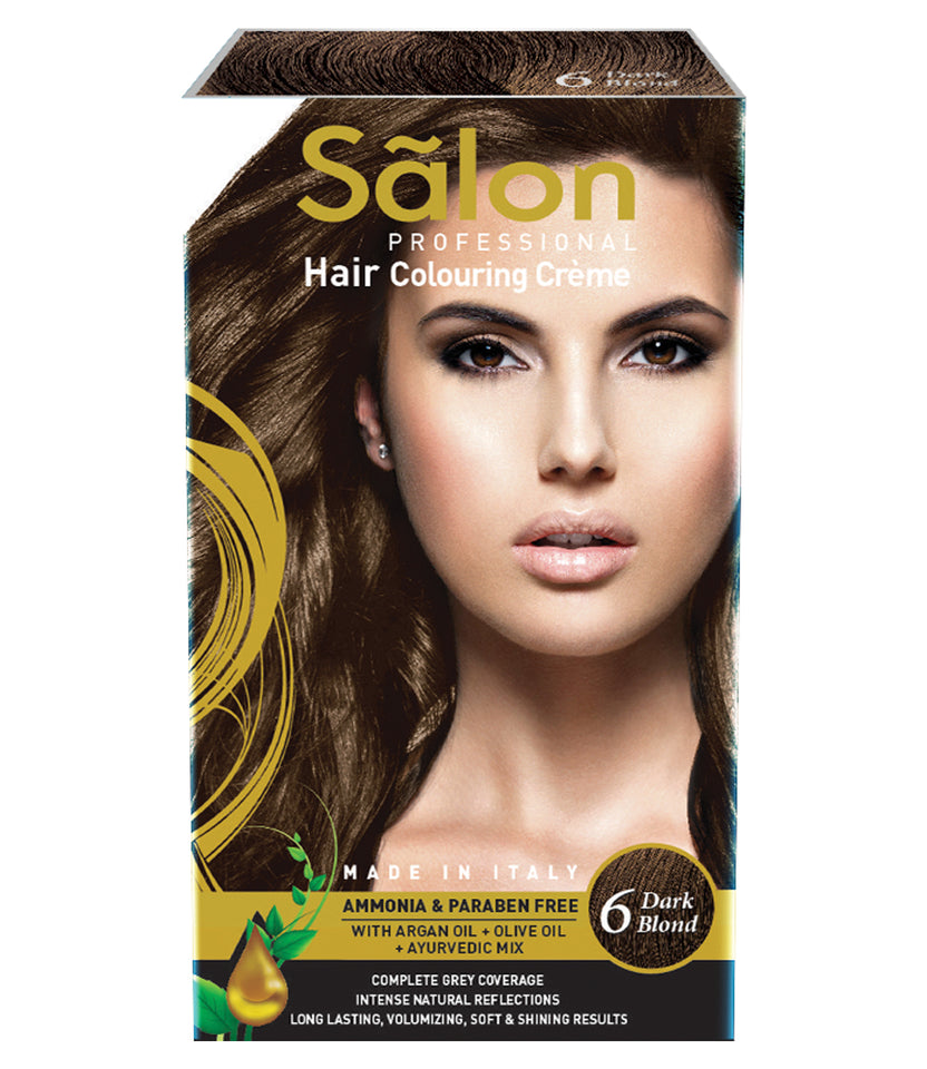 SALON PROFESSIONAL HAIR COLOR-DARK BLOND (6)
