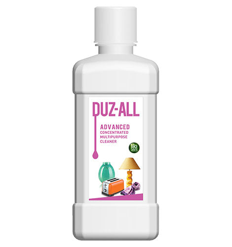 DUZ ALL ADVANCED CONCENTRATED MULTI PURPOSE CLEANER (BIOSAFE FORMULA) (500 ML) - Pack of 2