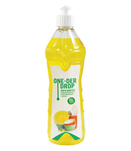 ONE DER DROP ADVANCED CONCENTRATED DISH WASHING LIQUID (BIOSAFE FORMULA) (500 ML)