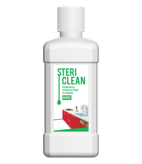 STERICLEAN POWERFUL DISINFECTANT CLEANER KHUS (500 ML)
