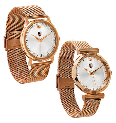 SM HIS & HER ROSE GOLD COMBO PACK