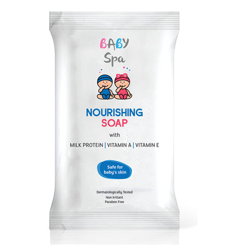 BABY SPA NOURISHING SOAP (75 G)-Pack of 4