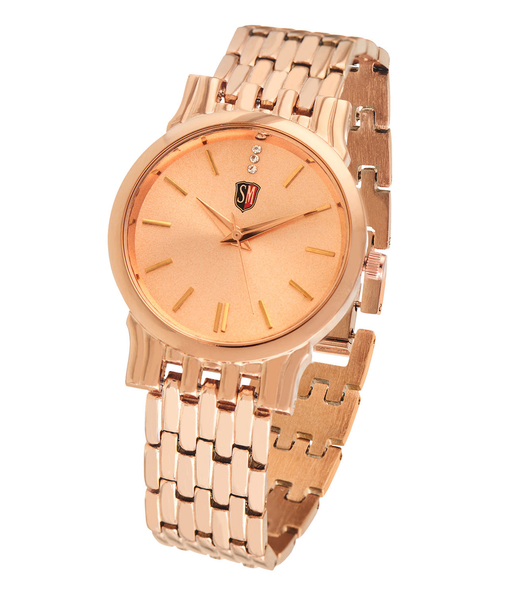 SM LADIES ROSE GOLD WATCH