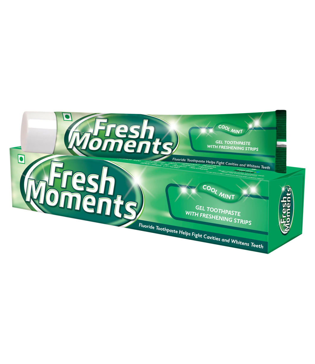 FRESH MOMENTS GEL TOOTHPASTE (100G)- Pack of 3