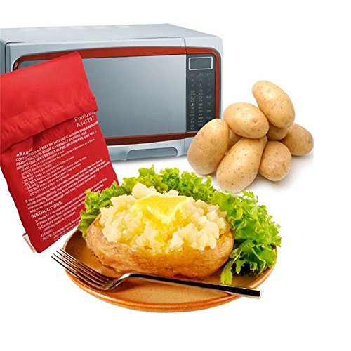 Ideal Home Potato Express  - Reusable Potato Cooker Bag, Polyester Fabric for Microwave Bake Cooking - Worldshopon.com