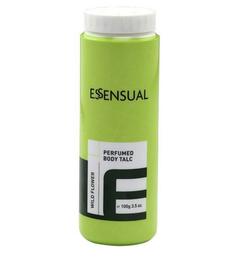 ESSENSUAL PERFUMED BODY TALC-WILD FLOWER (100G) - Worldshopon.com