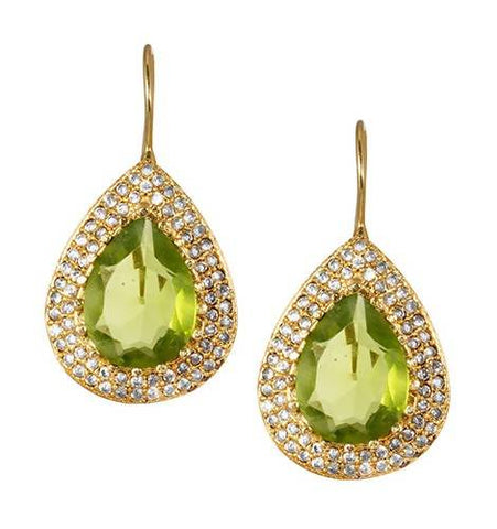 NOOR EMERALD GREEN (EARRING 2N) - Worldshopon.com