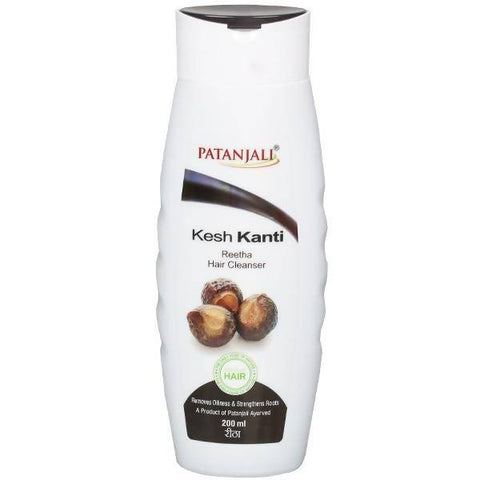 PATANJALI Kesh Kanti Hair Cleanser - Reetha 200 ml - Worldshopon.com