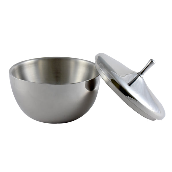 Ideal Home STAINLESS STEEL DOUBLE WALL SERVING BOWL SET OF 2 - Worldshopon.com