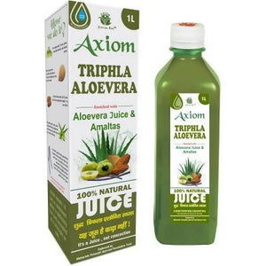 Axiom Triphla Aloevera Juice (1000ml) - Worldshopon.com