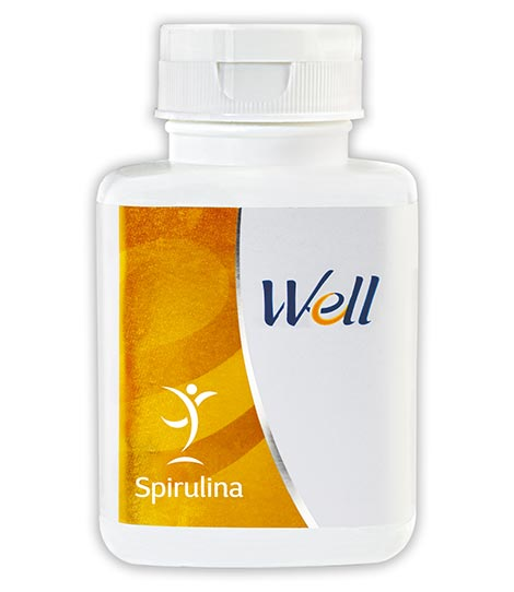 WELL SPIRULINA (100 CAPSULES) - Worldshopon.com