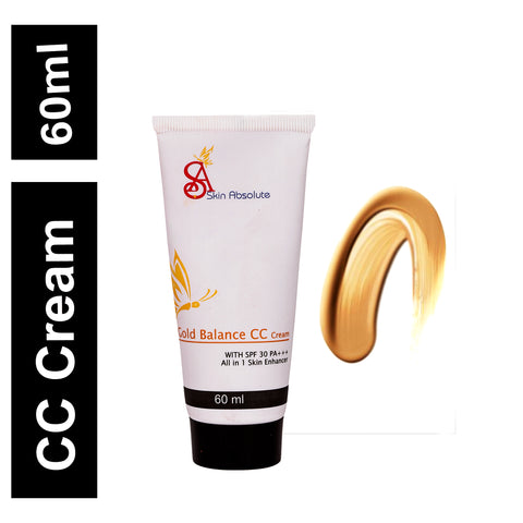 Skin Absolute Gold Balance CC Cream with SPF 30 / PA +++ - Worldshopon.com