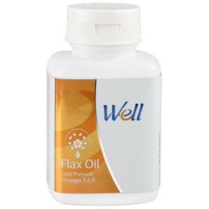 WELL FLAX OIL (90 SOFTGELS) - Worldshopon.com