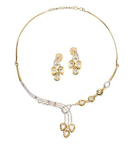 CHANDINI (NECKLACE 1N + EARRING 2N) - Worldshopon.com