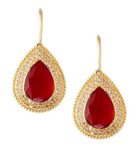 NOOR RUBY RED (EARRING 2N) - Worldshopon.com