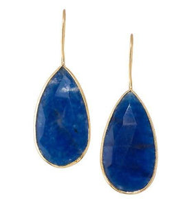 NAZIA ONYX BLUE (EARRING 2N) - Worldshopon.com