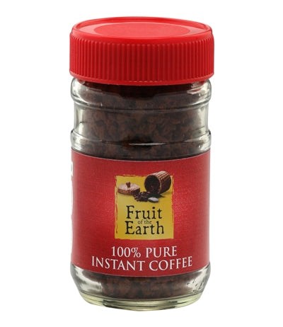 FRUIT OF THE EARTH 100% PURE INSTANT COFFEE (50G)