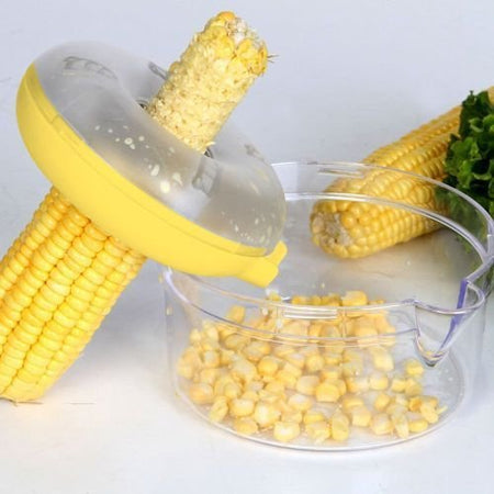 Ideal Home Corn Kerneler  - New Ultimate One Step Corn Cutter - Worldshopon.com