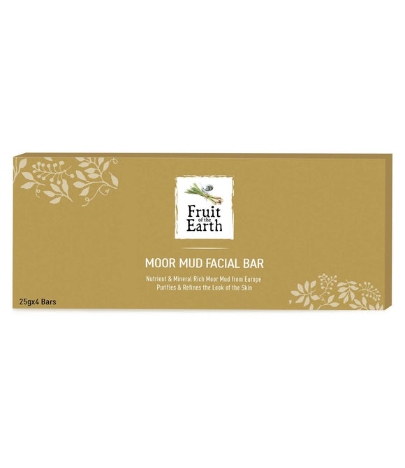 Fruit of the Earth Moor Mud Facial Bar (25gx4) - Worldshopon.com