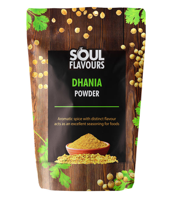 SOUL FLAVOURS DHANIA POWDER (Pack of 3 X 100G)