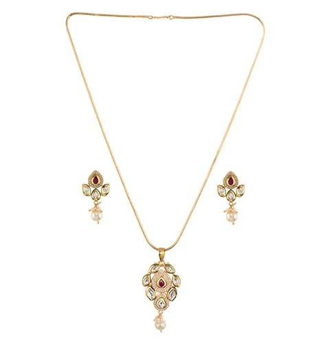 NAYANTARA (NECKLACE 1N + EARRING 2N) - Worldshopon.com