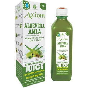 Axiom Aloevera Amla Juice (1000ml) - Worldshopon.com