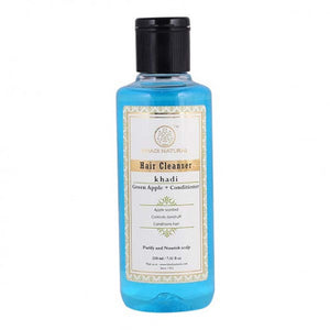 KHADI NATURAL - AYURVEDIC GREEN APPLE + CONDITIONER HAIR CLEANSER - Worldshopon.com