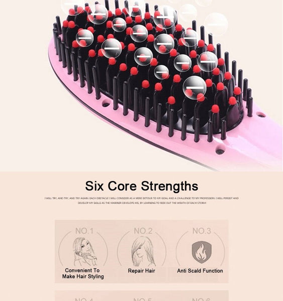 Hair Straightener Brush - worldshopon-com